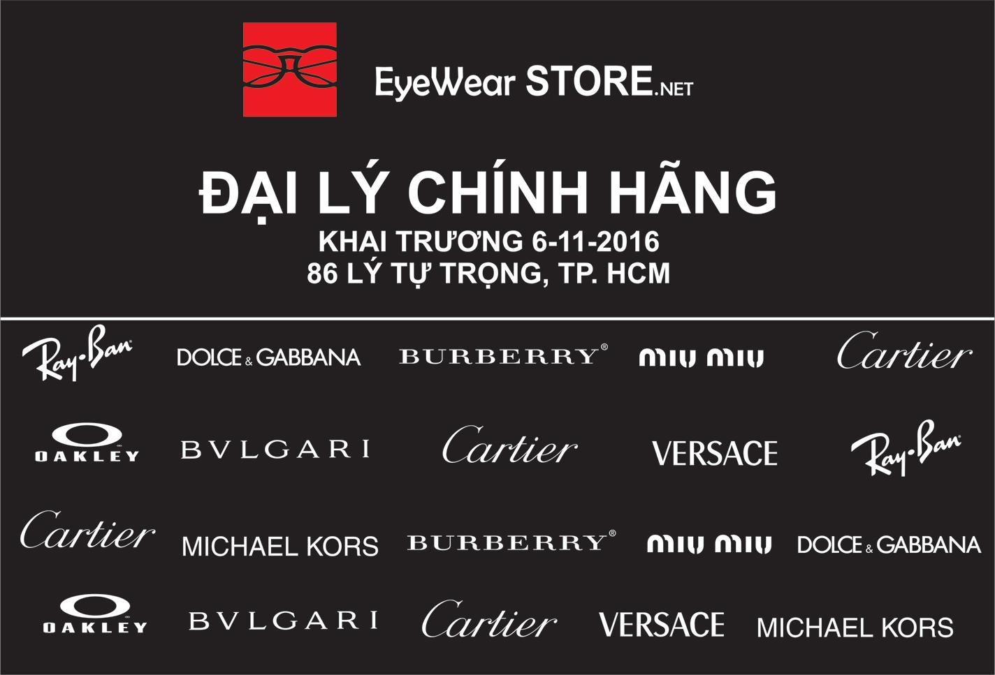 Eyewear STORE khai trương Showroom kính mắt cao cấp tại TP. Hồ Chí Minh