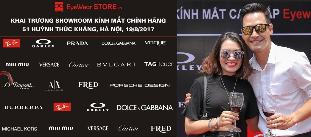 Eyewear STORE.vn khai trương Showroom kính mắt thứ 3 tại 51 Huỳnh Thúc Kháng, Hà Nội