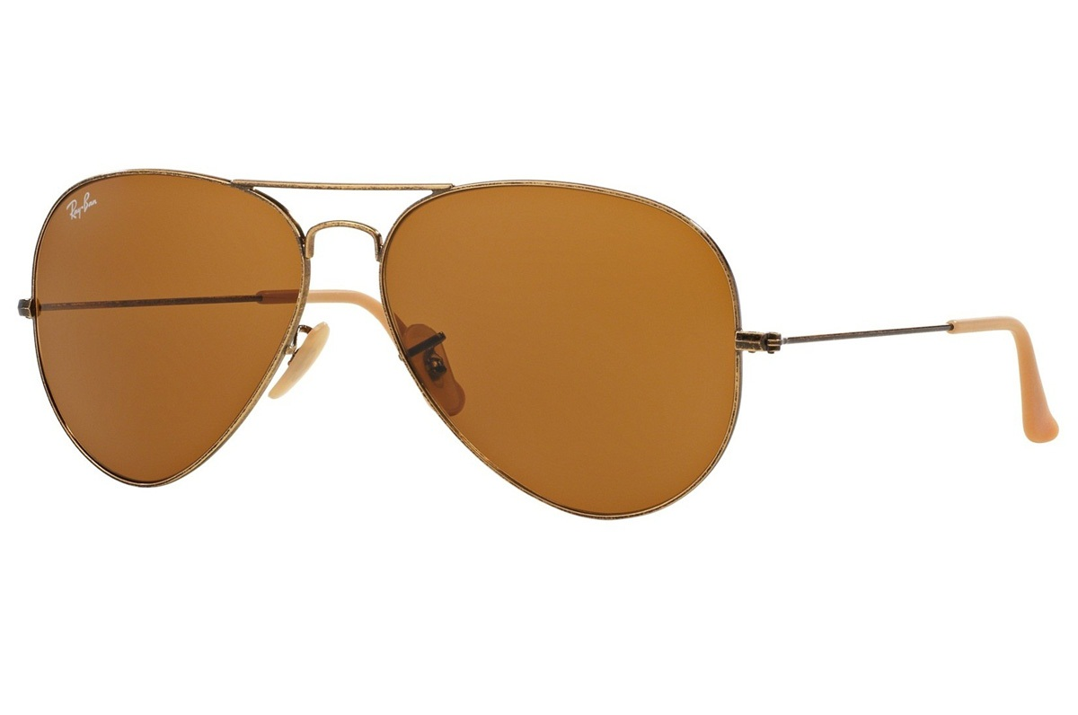 RAY-BAN AVIATOR DISTRESSED S-RAY 3025-177/33(62IT)
