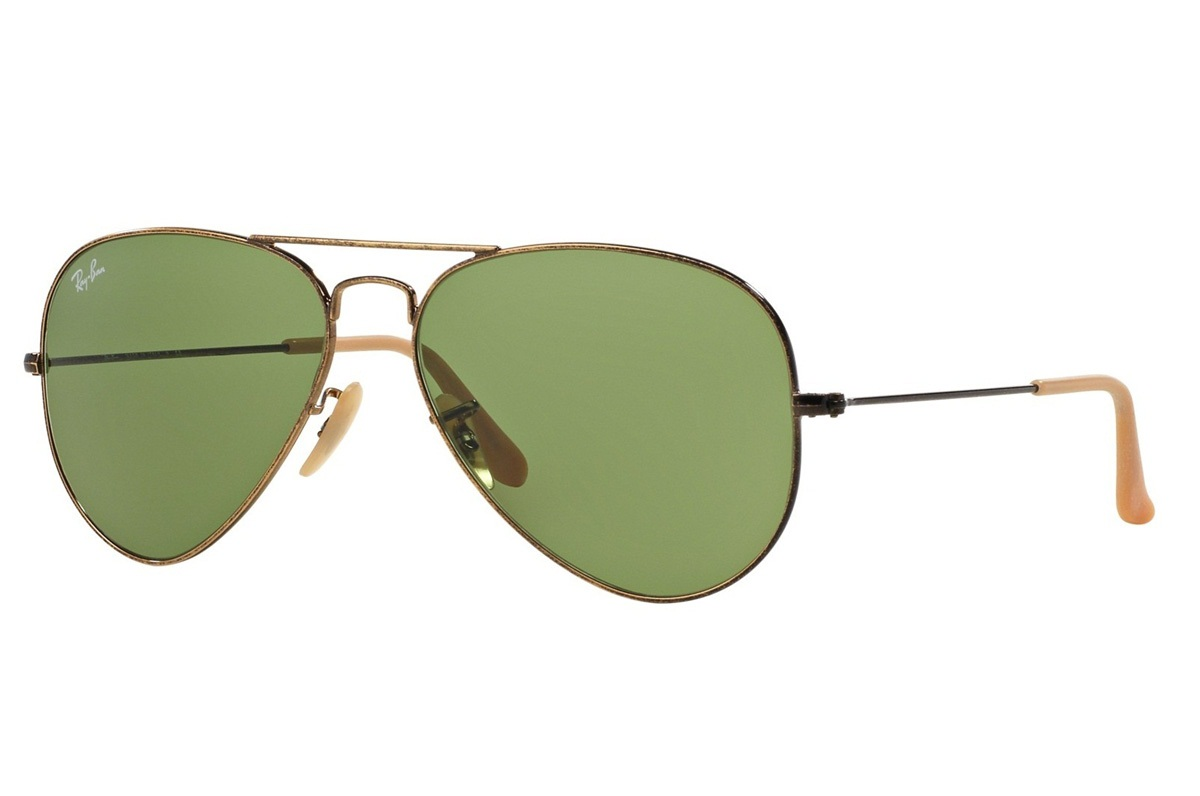 RAY-BAN AVIATOR DISTRESSED S-RAY 3025-177/4E(58IT)