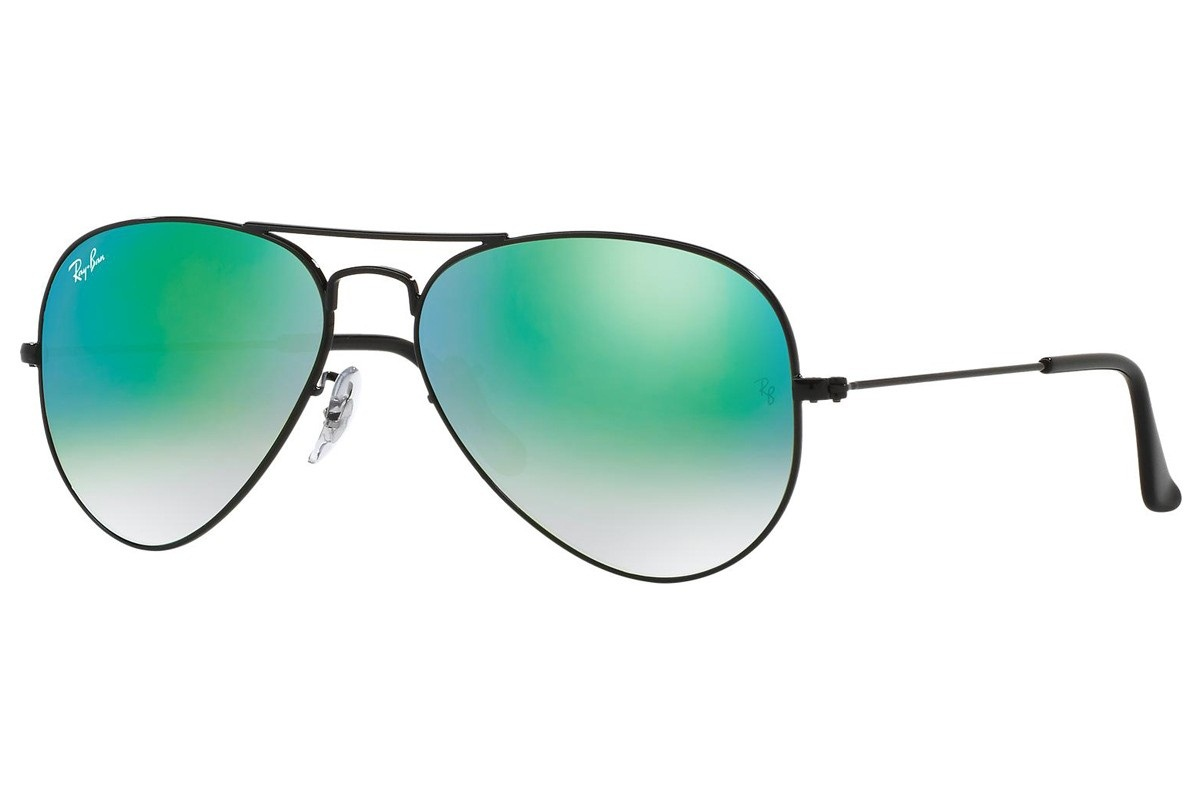 RAY-BAN AVIATOR FLASH LENSES GRADIENT S-RAY 3025-002/4J(62IT)