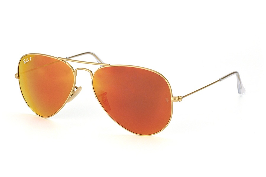 RAY-BAN AVIATOR FLASH LENSES S-RAY 3025-112/4D(58IT)