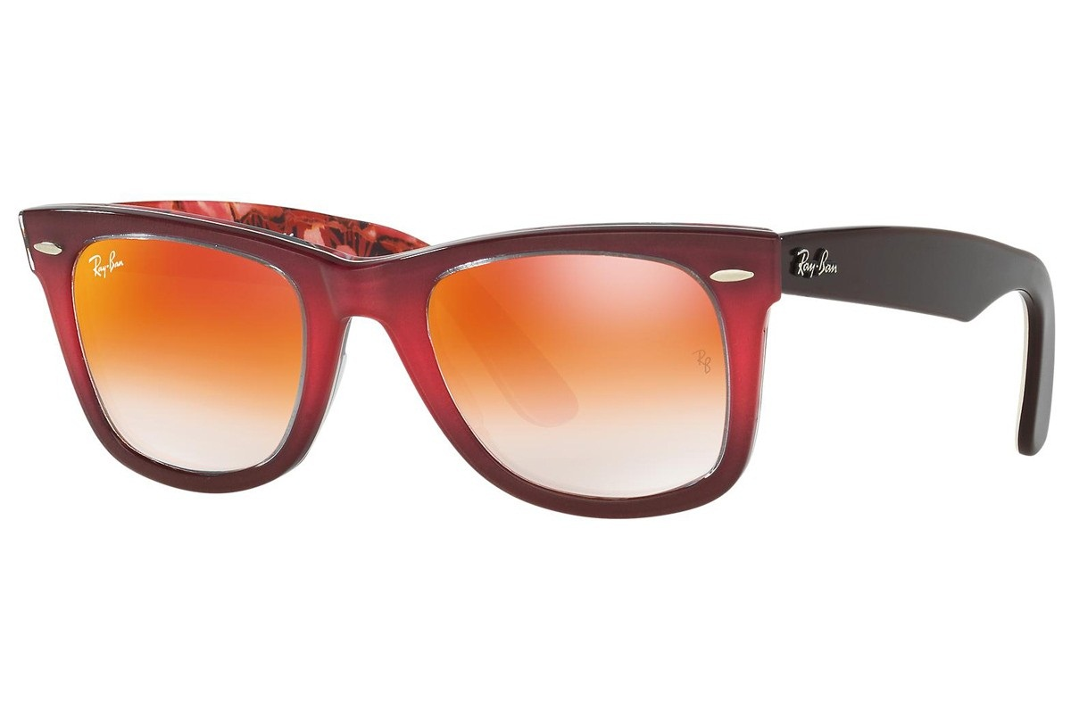 RAY-BAN ORIGINAL WAYFARER FLORAL S-RAY 2140F-1200/4W(52IT)