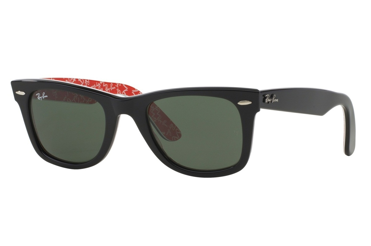 RAY-BAN ORIGINAL WAYFARER RARE PRINTS S-RAY 2140F-1016(52IT)