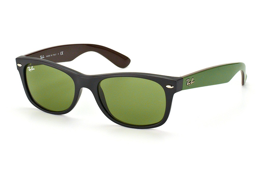 RAY-BAN NEW WAYFARER S-RAY 2132F-6184/4E(55IT)