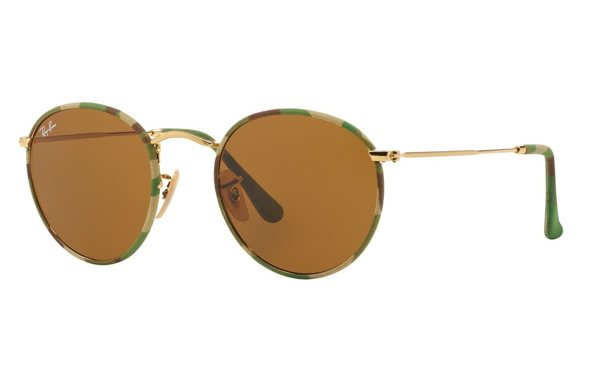 RAY-BAN ROUND CAMOUFLAGE S-RAY 3447JM-169(50CN)