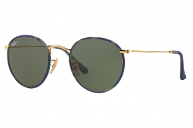 RAY-BAN ROUND CAMOUFLAGE S-RAY 3447JM-172(50CN)