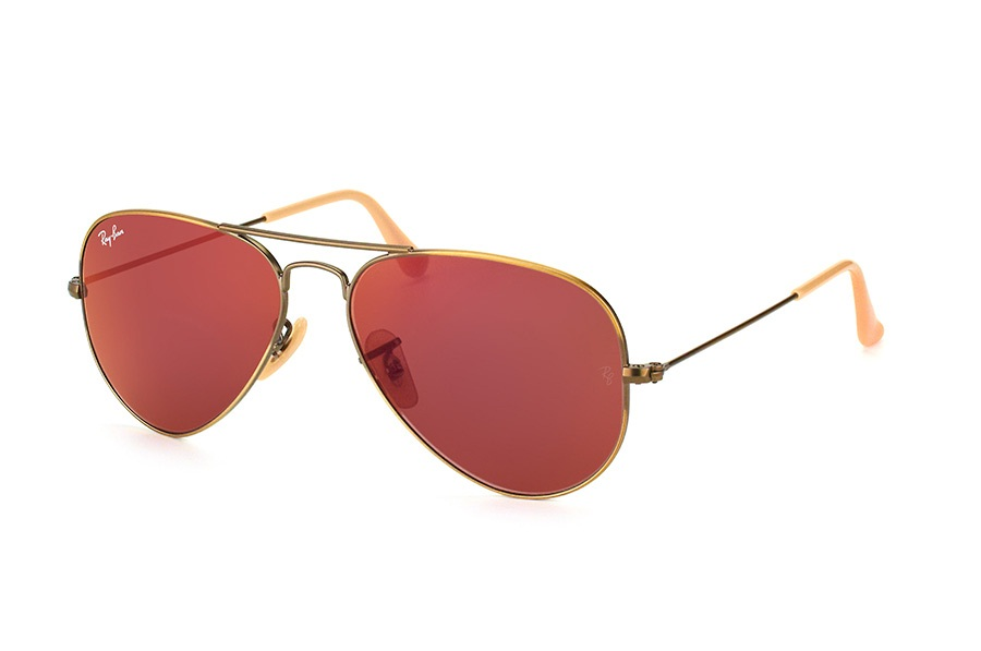 RAY-BAN AVIATOR FLASH LENSES S-RAY 3025-167/2K(58IT)