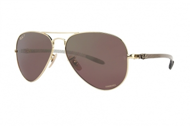 RAY-BAN CHROMANCE AVIATOR RB8317CH-001/6B(58IT)