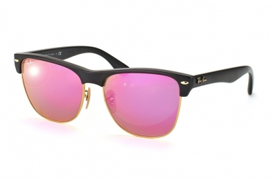 RAY-BAN CLUBMASTER OVERSIZED FLASH LENSES S-RAY 4175-877/4T(57IT)